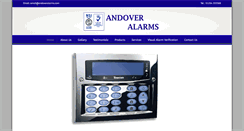 Preview of andoveralarms.co.uk